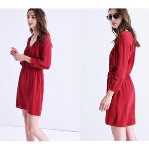 Madewell Silk Woodland Dress